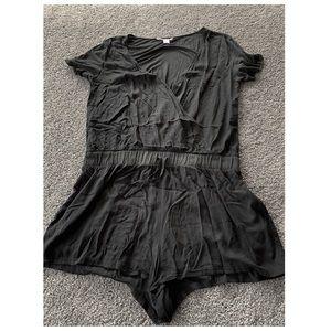 Victoria's Secret black romper! Size large